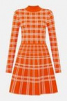 orange-bold-check-knit-fit-and-flare-dress.jpg